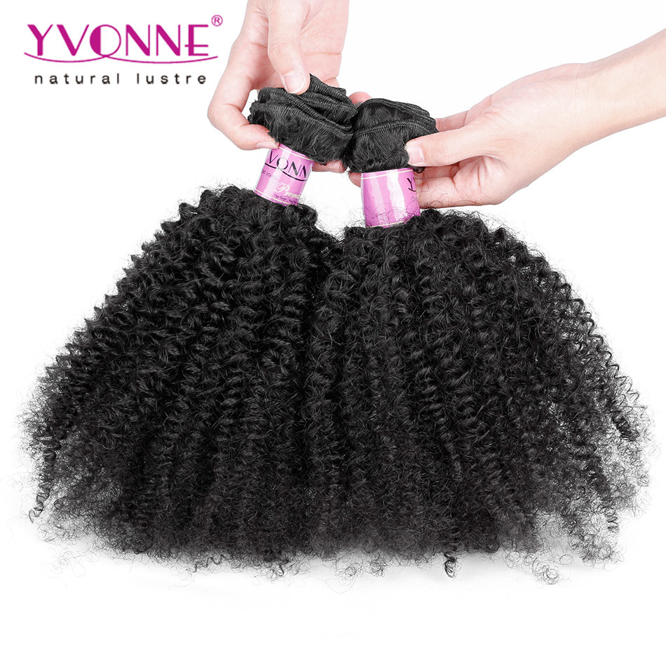 Factory Price Afro Kinky Curly Brazilian Hair Extension