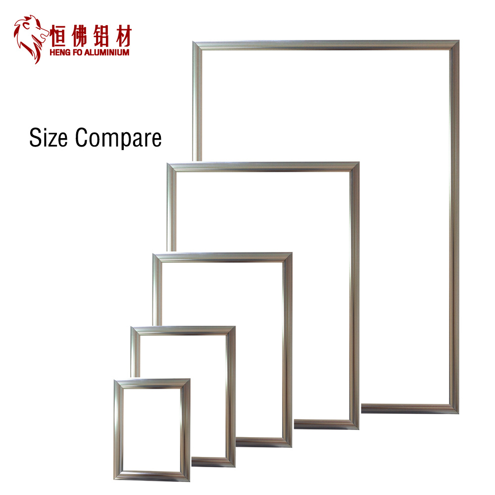 Customized Aluminum Picture Frame with LED