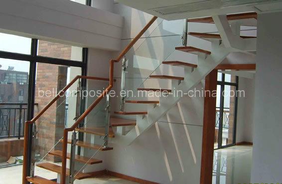 Light Weight Fibreglass/FRP/GRP Handrailing/Handrail, Safety Railing