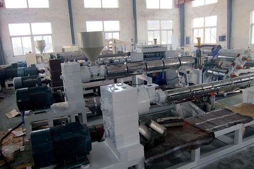 Single Screw Plastic Sheet Extruder Machine (HY-670)