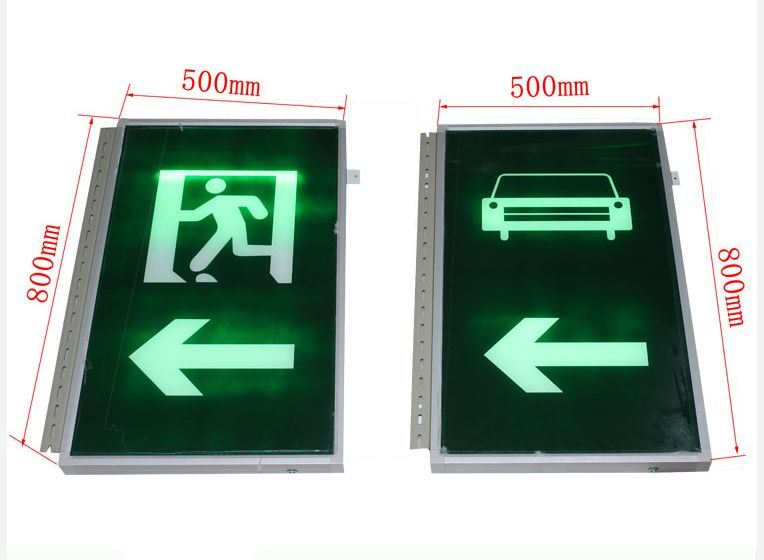 China Supplier LED Flashing Warning Light Pedestrian Sign Tunnel Traffic Safety Sign