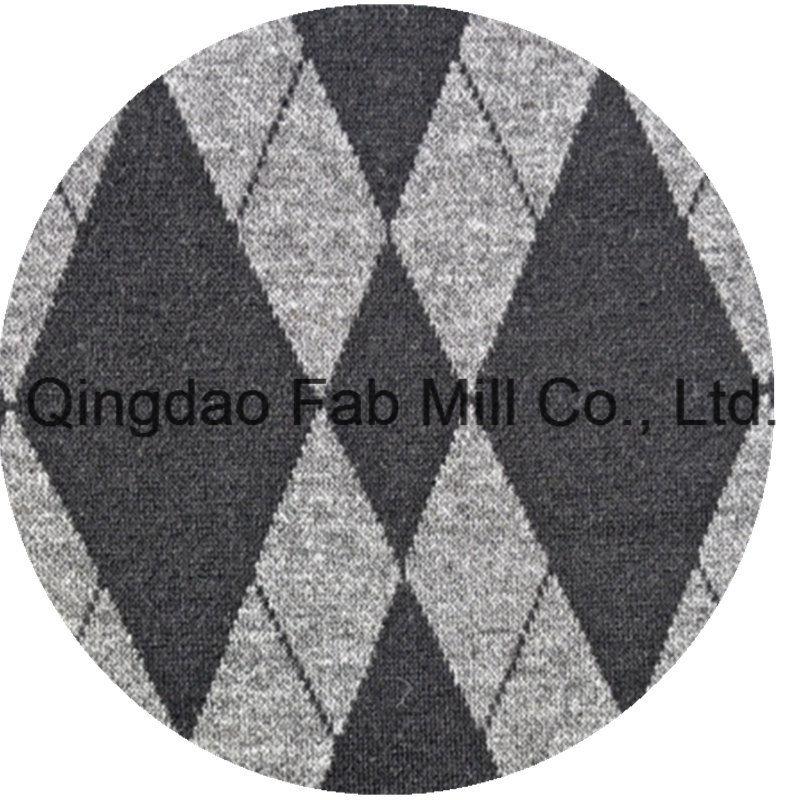 Poly Rayon Spandex Jacquard Fabric (QF13-0671)