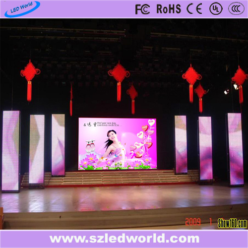 Mobile Video Wall Pixle Big USB Electronic Signs Curved Outdoor/Indoor LED Display Screen Panel Board China Project for Stage Rental (P3.91,P4.81,P5.95,P6.25)
