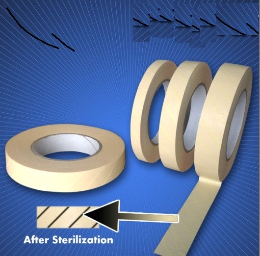 Autoclave Indicator Tape/Steam Indicators/Steam Indicator Tape