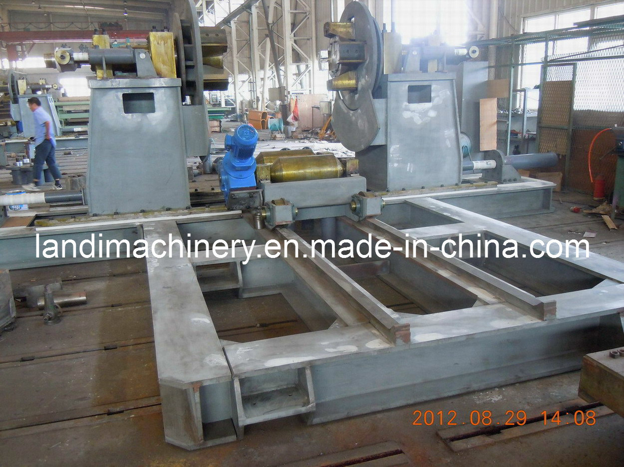 Decoiling Machine Fabrication (Part of Pipe Welding Line)