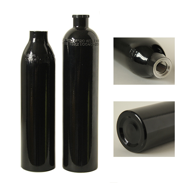 0.35L, 0.5L Paintball Hpa Aluminium Cylinders