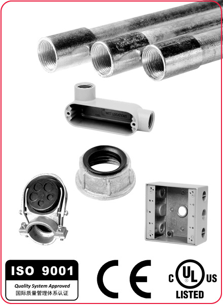 UL Listed Zinc Set Screw EMT Coupling