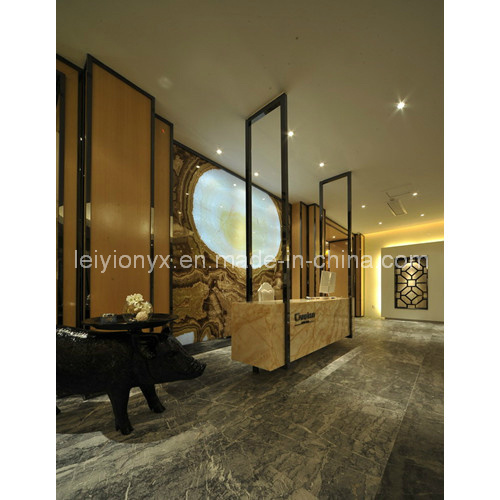 Polished Onyx Marble for Book Match
