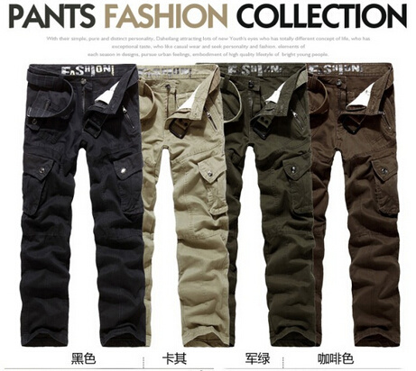 From Chinese Factory Long Cargo Pants