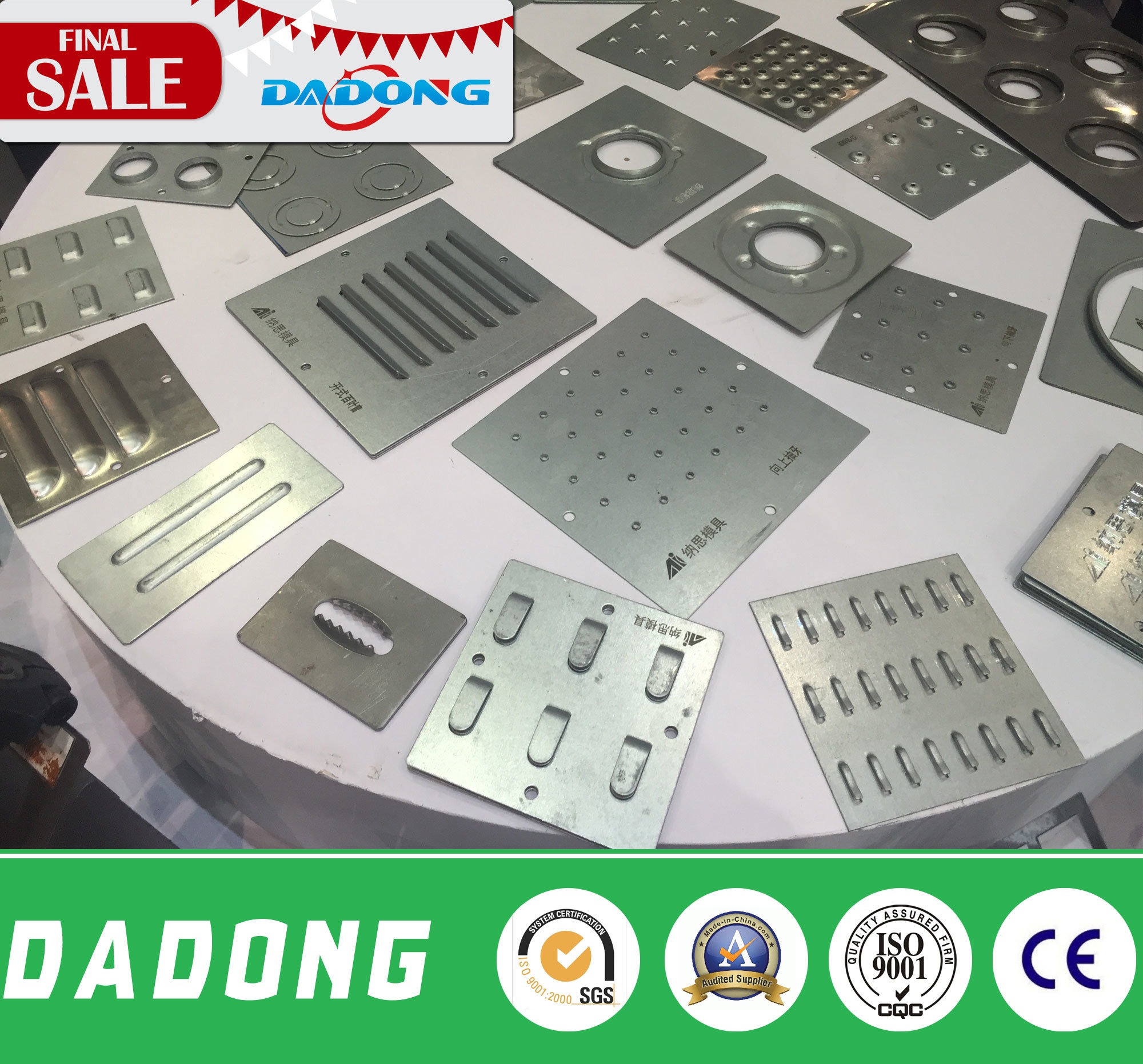 CNC Punch Press for Stainless Steel Perforating Machine Turret Punch Press