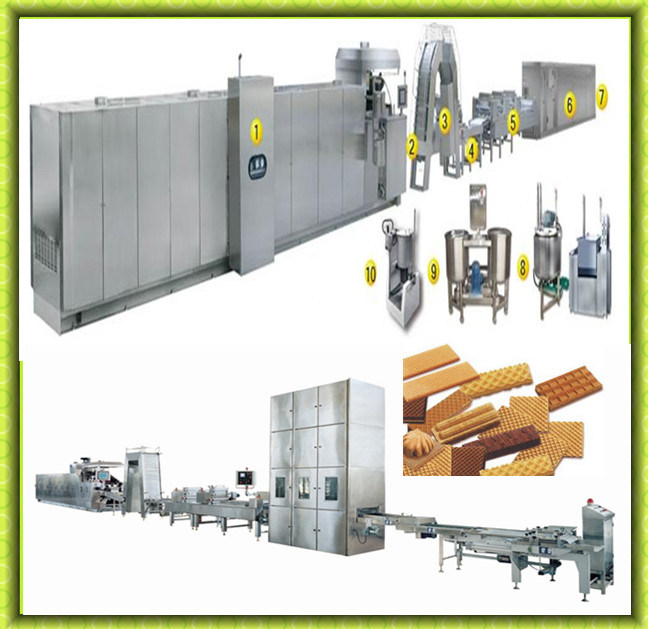 Hot Sale Full Automatic Wafer Biscuit Production Line