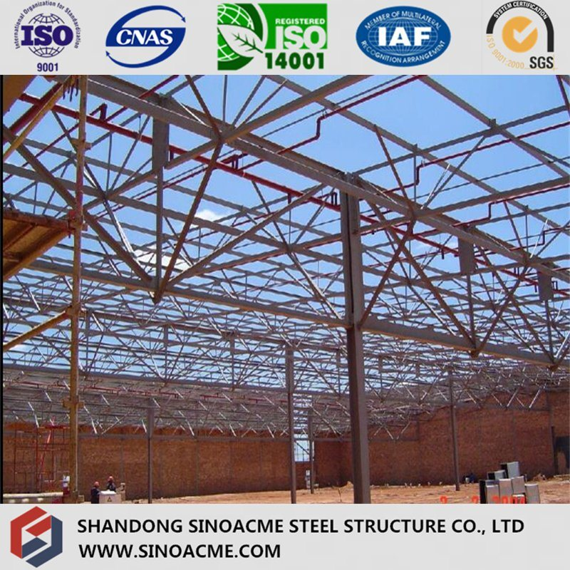 Steel Truss Structure for Prefabricated Workshop