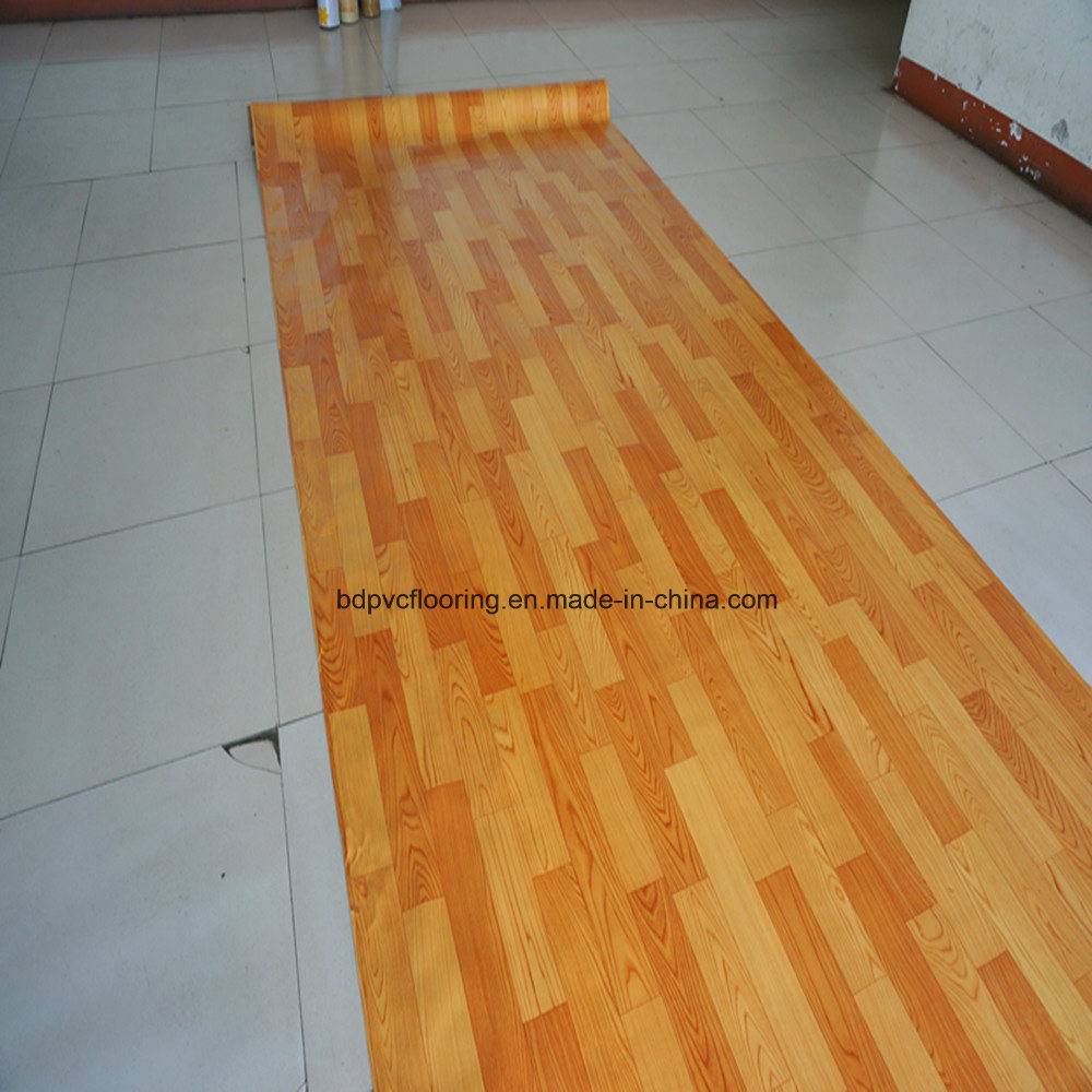 1.0mm 1.2mm 1.4mm Sponge Flooring with Sponge Backed Rolls