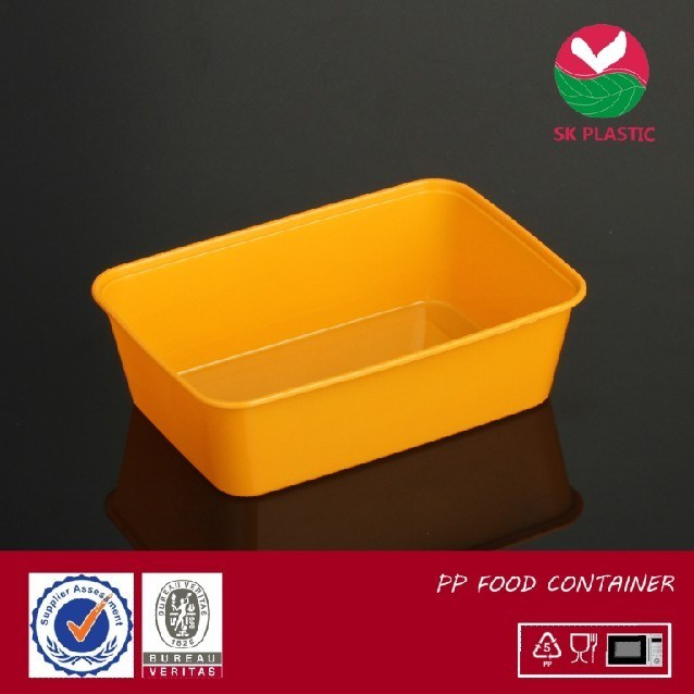 Disposable Plastic Food Container (SK 1000)