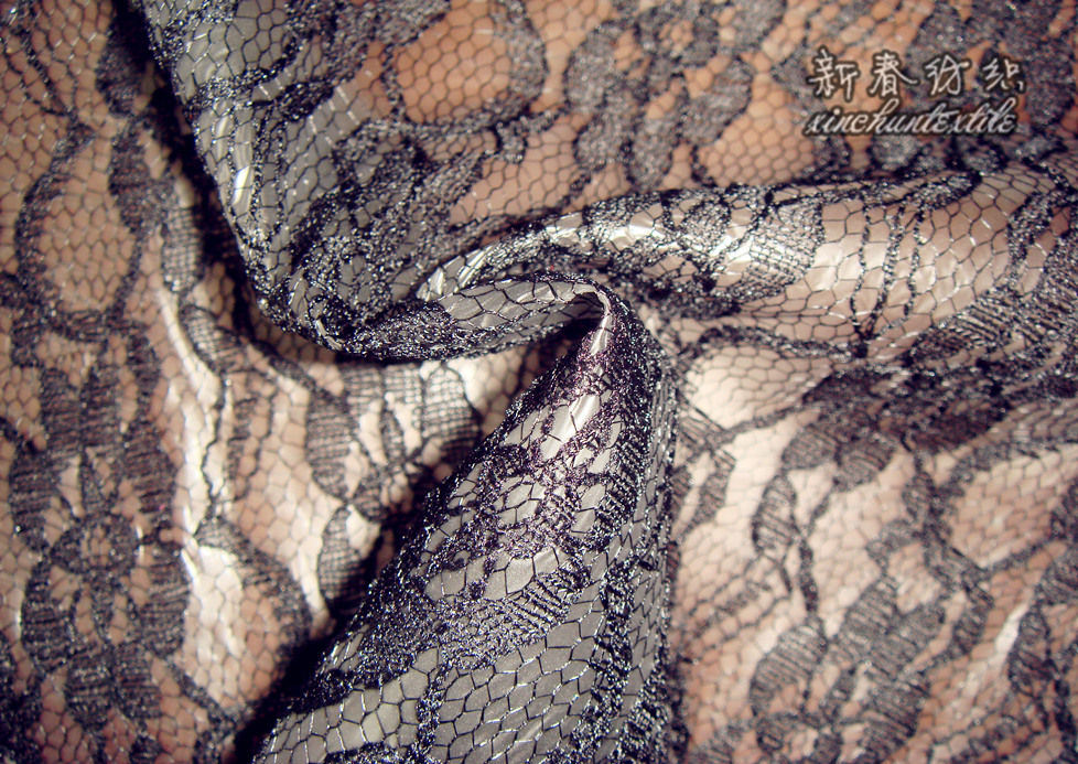 Polyester Lace with TPU Lamination