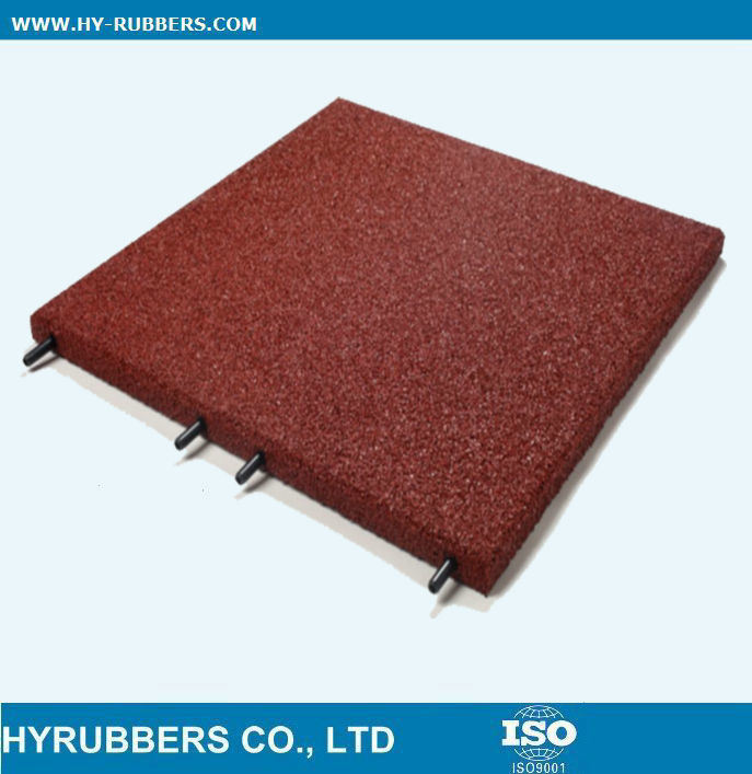 Playground Rubber Tile, Gym Rubber Tile, Gym Floor Mat