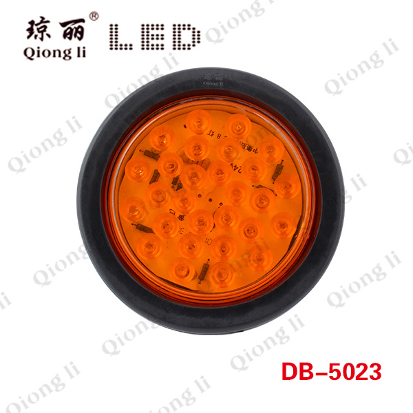 28 LEDs 4 Inch LED Round Tail Lamp (dB-5024)