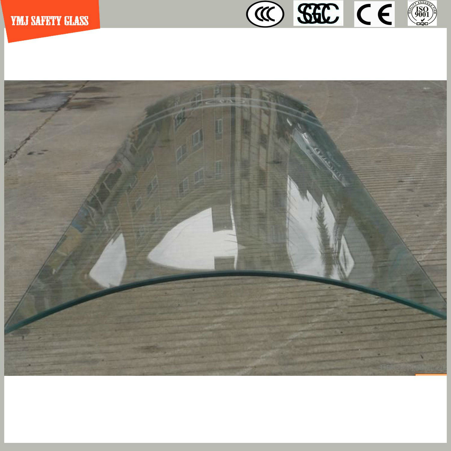 4-19mm Tempered Glass for Construction, Shower, Green House, Hotel,