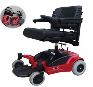 Electric Wheelchair for Disabled T408A-Red