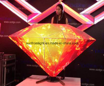 P5 Diamonds LED DJ Booth
