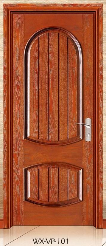 Competitive Interior Solid Wooden Door (WX-VP-101)