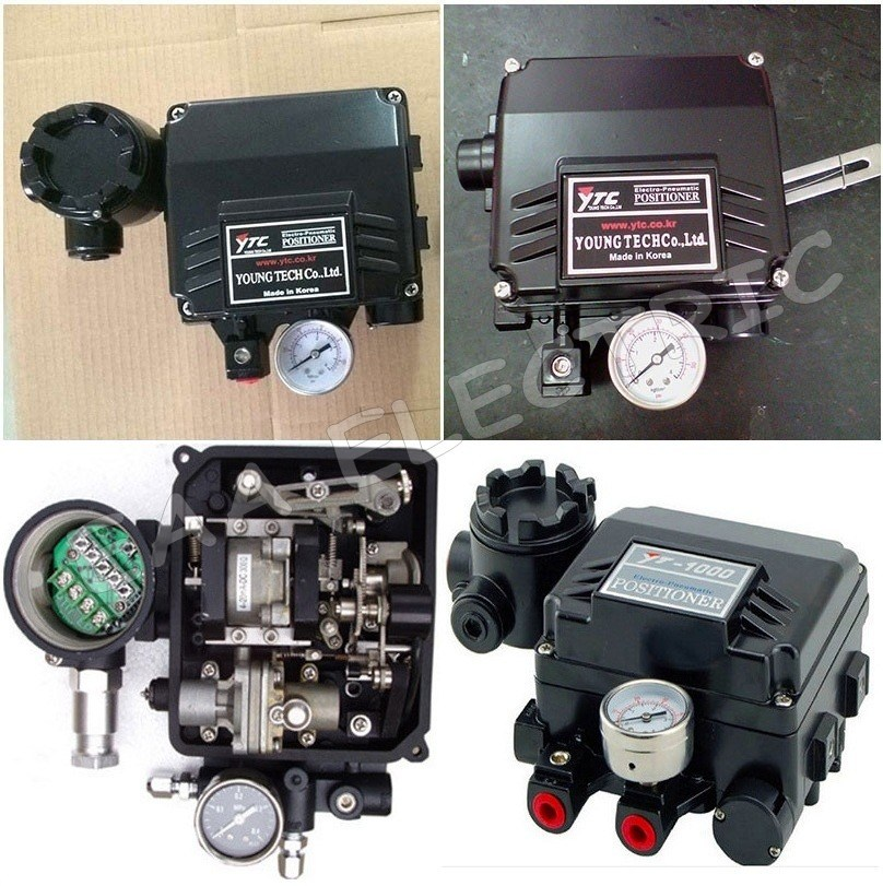 China Yt1000r Rotary Electro Valve Actuator Factory