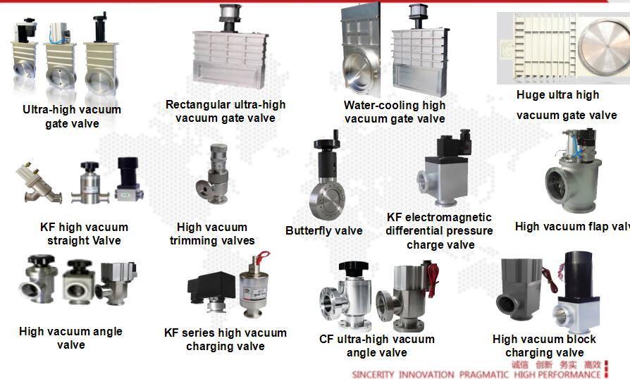 Stainless Steel Reducing Tee Flange Kf Vacuum Component