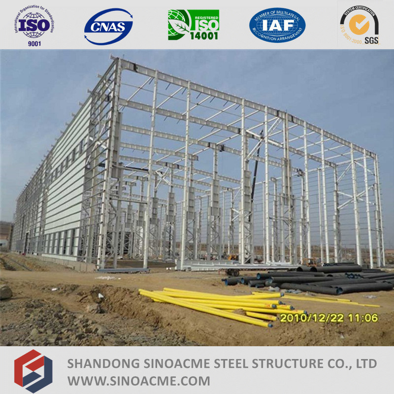 Sinoacme High Rise Heavy Steel Strucutre Industrial Building