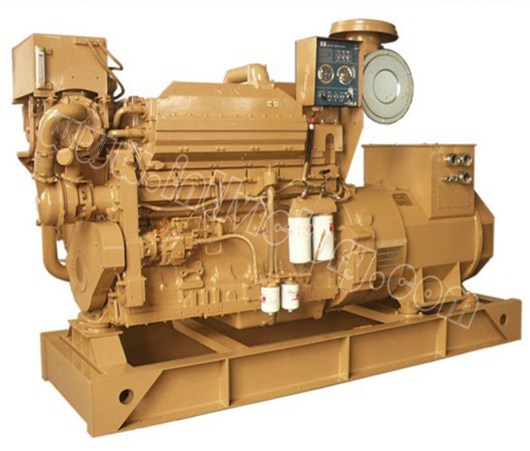 250kVA~1100kVA Cummins Marine Diesel Genset with CCS/Imo Certification