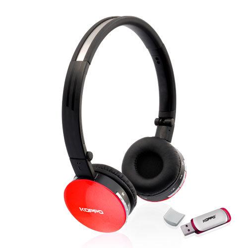 China Foldable Wireless Headphone with USB Emitter - China Wireless Headphone, Computer Wireless ...