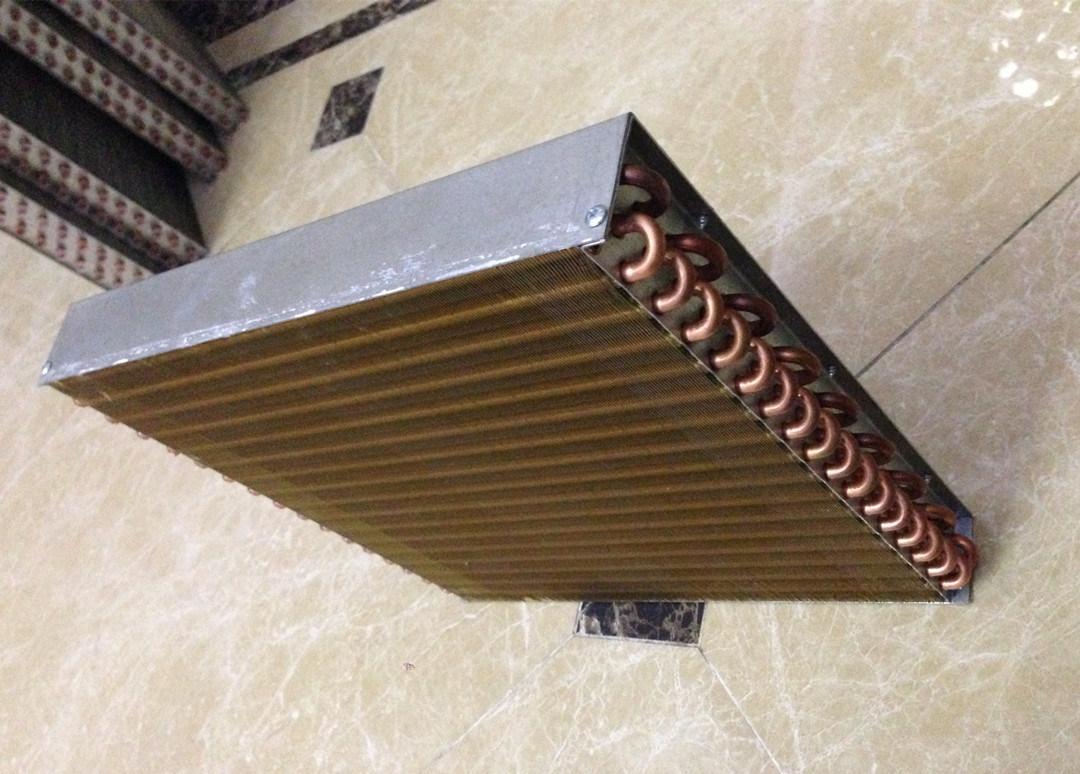 Plain Fin Heat Exchanger Coils HVAC Coils