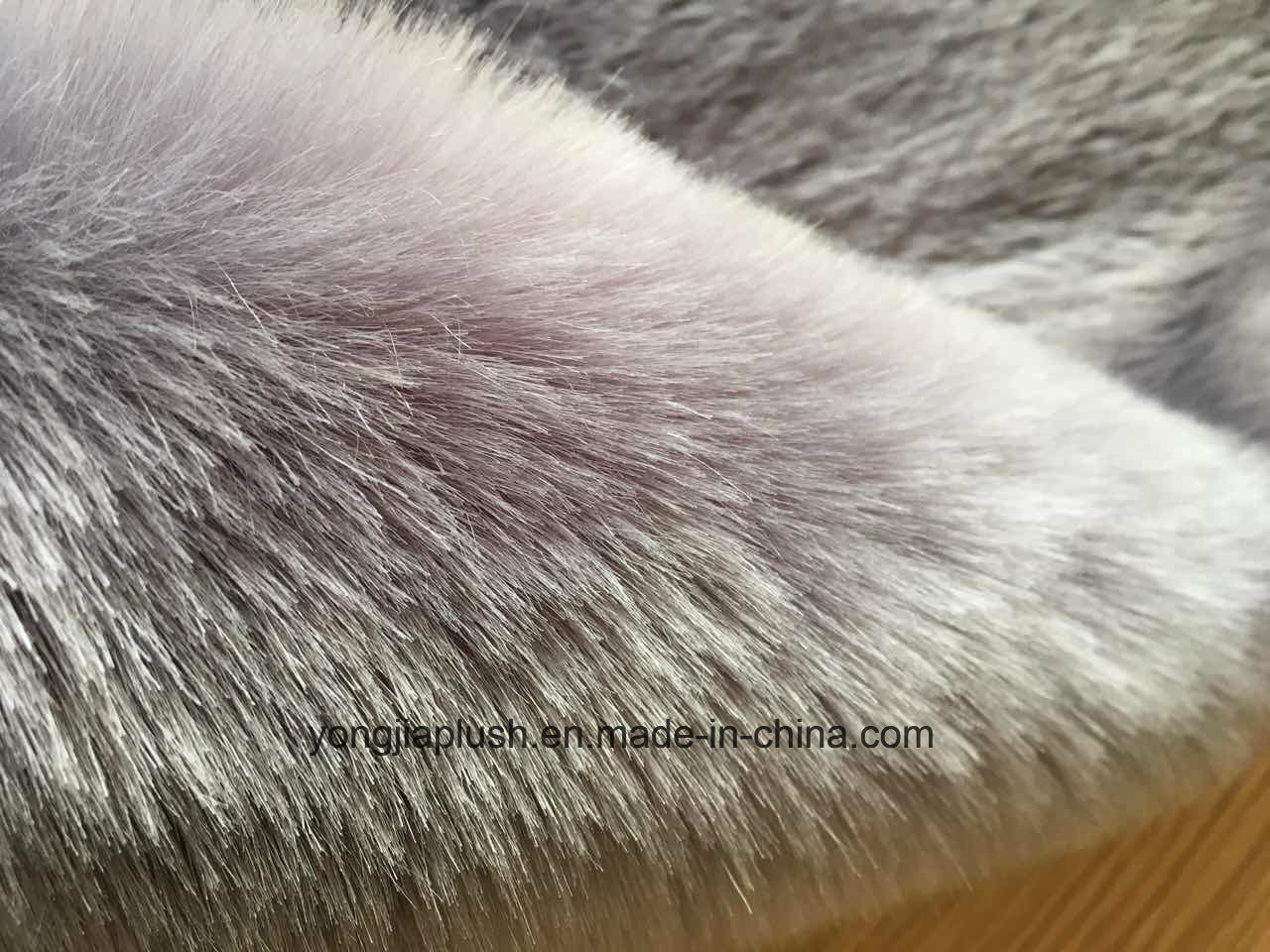 Dark Grey Arctic Fox Faux Fur