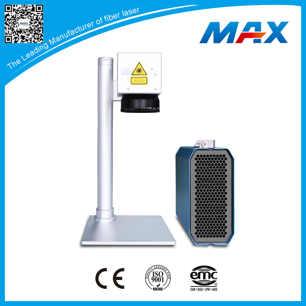 Small 20W Handheld Plastic Fiber Laser Engraving Machine