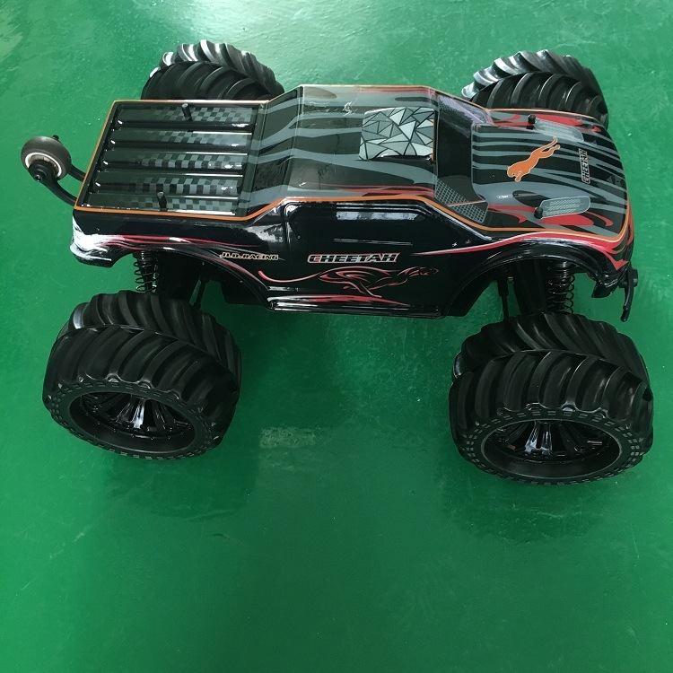 Brushless Hobby RC Car Monster Truck Metal Chassis 1/10 Electric