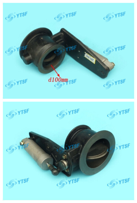 High Quality Beiben Parts Exhaust Brake Pipe