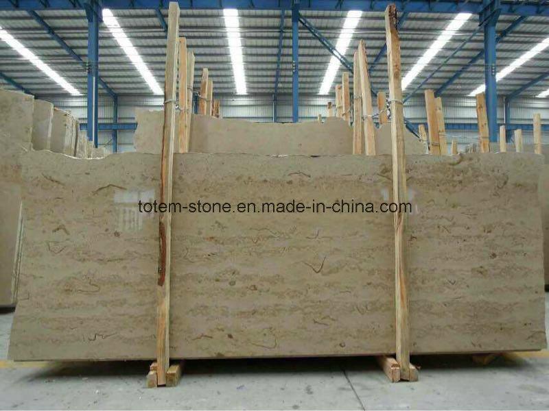 Jura Beige Limestone Marble Fireplace Tiles Countertops Slabs for Sale