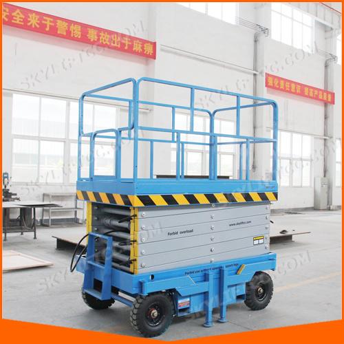 4-20m 500kg Electric Hydraulic Scissor Lift with Good Quality Price