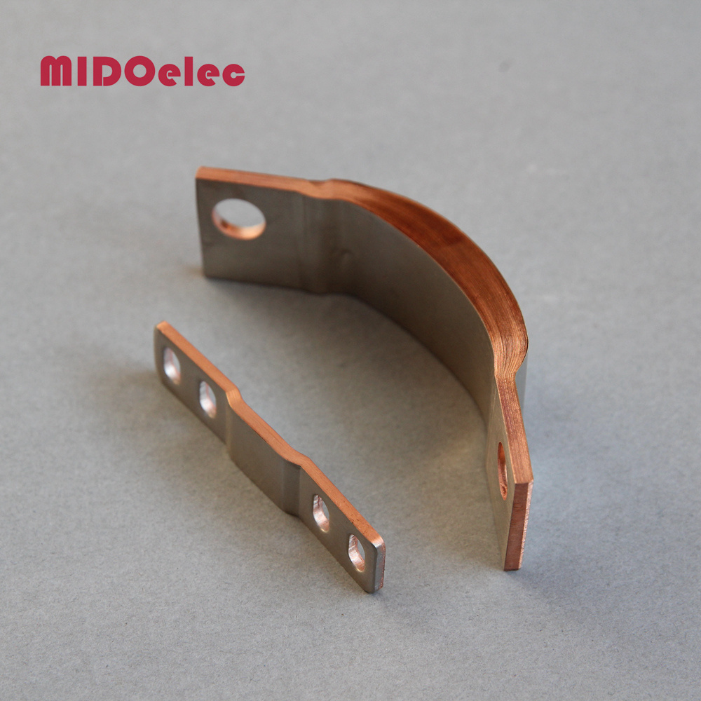 Flexible Copper Busbar Electric Connector