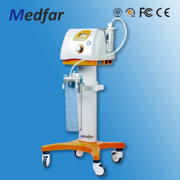 CE Approved Medical Mf-Vs-II-M Use Wound Care and Drainage Suction Unit