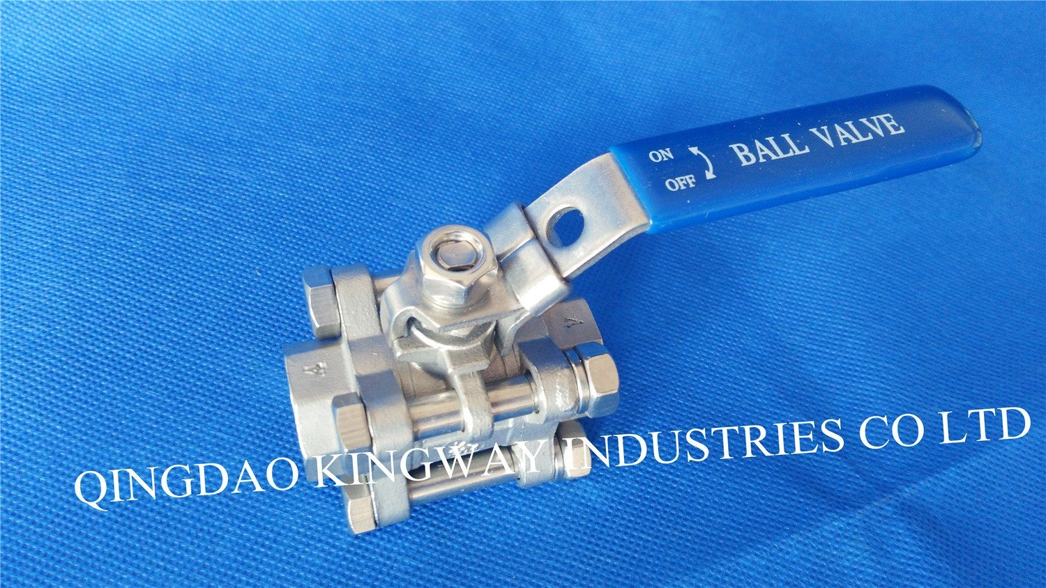 Stainless Steel 3-PC Threaded Ball Valve with High Pressure 1000psi/Pn63