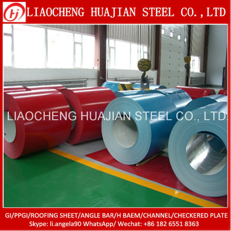 Price Prepainted Steel Coil/PPGI Coil From China Supplier