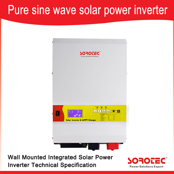 Pure Sine Wave Solar Inverter with MPPT Solar Charge Controller Ssp3115c 1-6kw