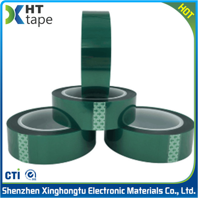 Green Pet Adhesive Tape High Temperature Resistant Tape