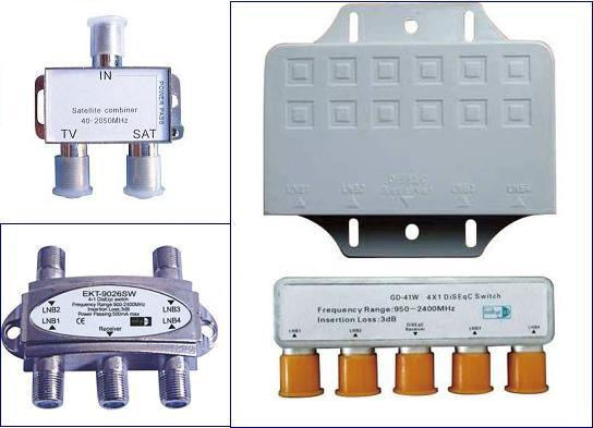 TV/Sat Combiner & Diseqc Switch (TV121, TV122, TV123 TV124 TV125)