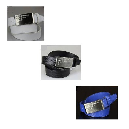 Golf Belt/Golf Accessory/Golf Gift White, Black, Blue