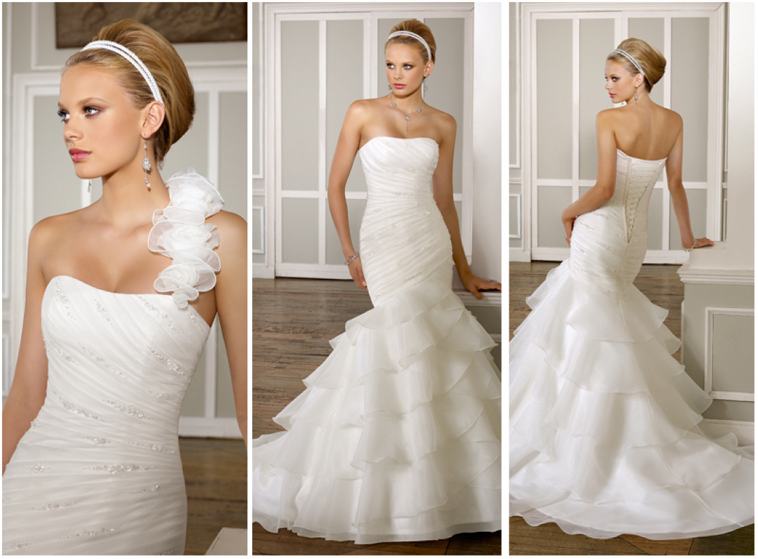 2012 Fashion Wedding Dress (62910)