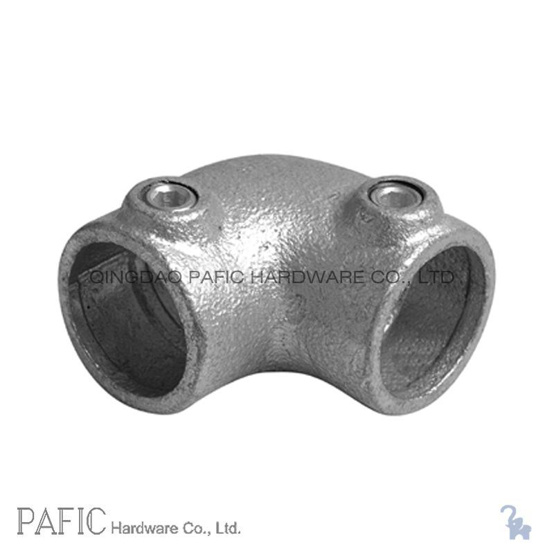 China malleable iron elbow fittings tube photos