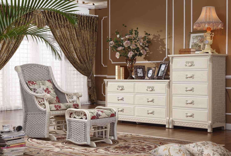Wicker Office Furniture: - - Bedroom