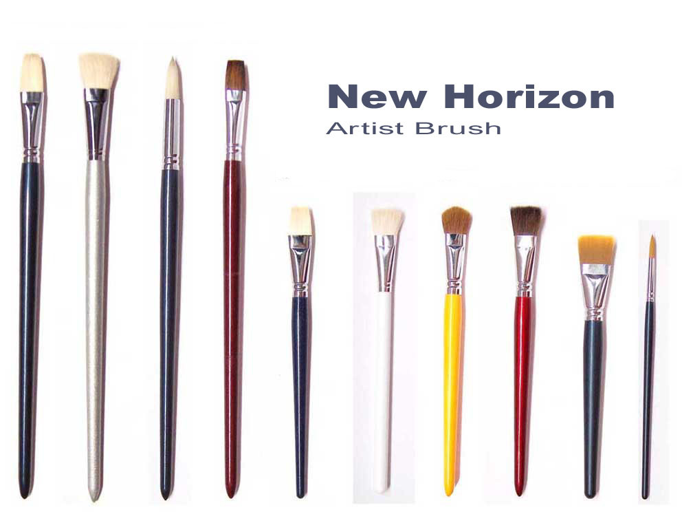 Artist Painting Brushes