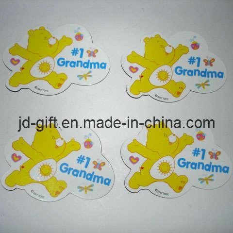 Colorful Printing Die-Cut Carton Paper Fridge Magnet